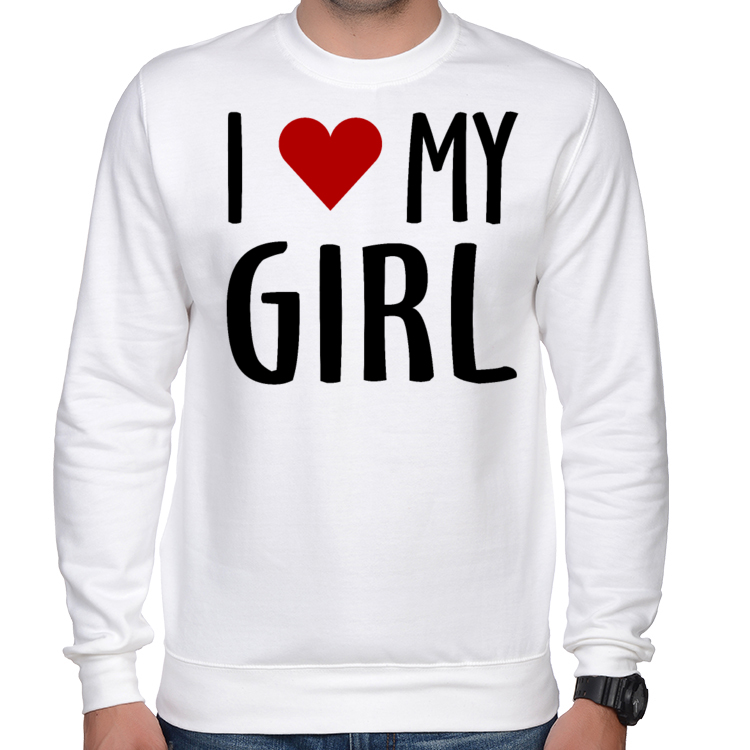 Bluza I love my girl 336