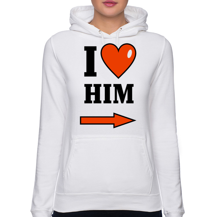 Bluza I love him 195